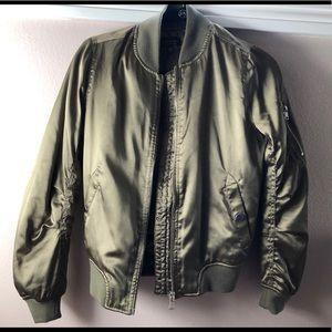 Topshop Women's Bomber Jacket
